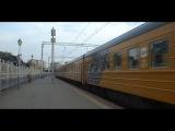 ЧС7-058 с фирменным поездом № 001Р