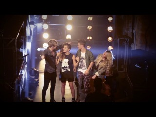 Behind the scenes at the glamour shoot with TalkTalkTV Backstage - The X Factor UK 2014