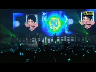 "110101 SHINee 1st Concert In Seoul ""SHINee World"" making @ Zhang YiXing CUT (Part 2)"